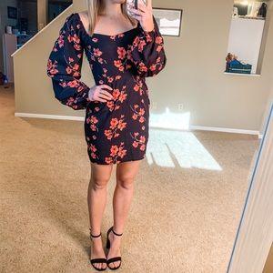 Nasty Gal Floral Dress